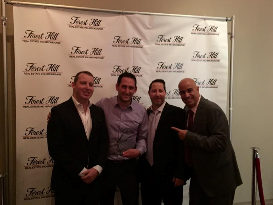 Congratulations Michael Steinman - Number 1 Agent Award at Forest Hill Real Estate and Brokerage